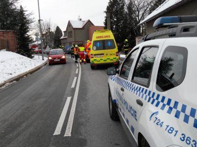 Nehoda motorových vozidel