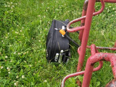 podezřelé zavazadlo