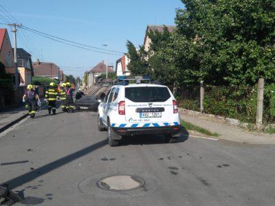 nehoda osobních motorových vozidel